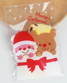 Traktatiezakjes 'Merry Christmas'