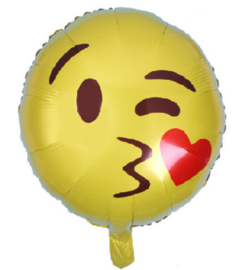 Smiley ballon (kiss)