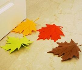 Deurstopper blad (oranje)