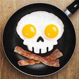 Skull bakvorm voor gebakken ei