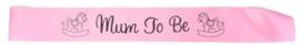 Mum To Be sjerp (roze)