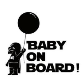 Star Wars Baby on Board sticker