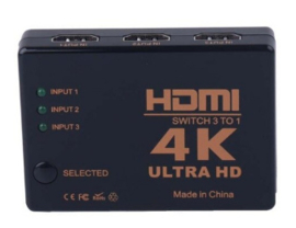 HDMI switch 4K (3 poorten)