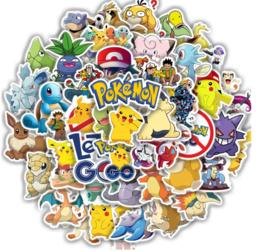 Pokémon stickers (50 stuks)