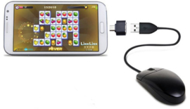 Micro USB naar USB adapter