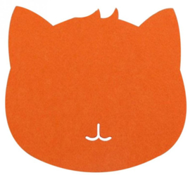 Muismat kat (oranje)