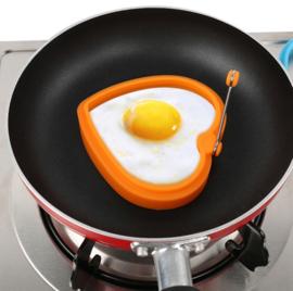 Hart bakvorm voor gebakken ei