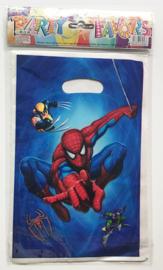 Spiderman traktatie zakjes (10 stuks)