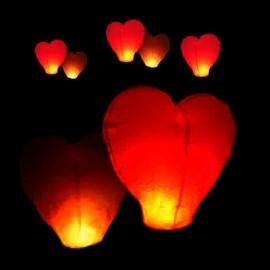 Wensballon hart