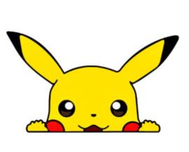 Pikachu autosticker