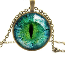 Ketting cat eye