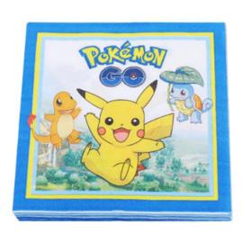 Pokemon servetten (20 stuks)