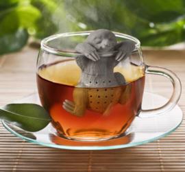 Luiaard voor losse thee