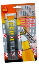 Beer rules opener
