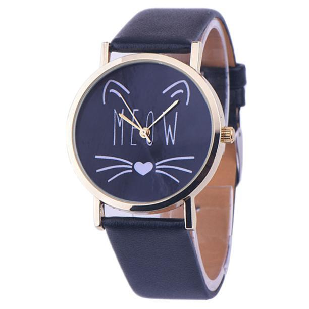 Horloge meow