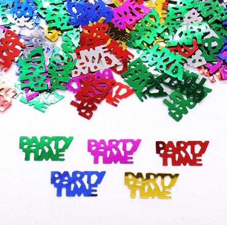 Party Time confetti