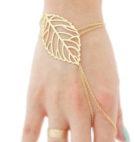 hand ketting leaf