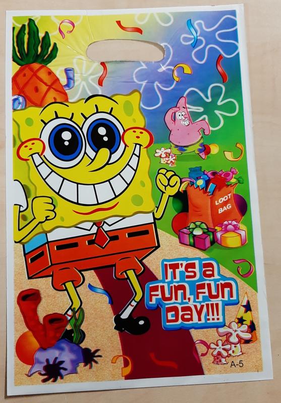 Spongebob traktatie zakjes (10 stuks)