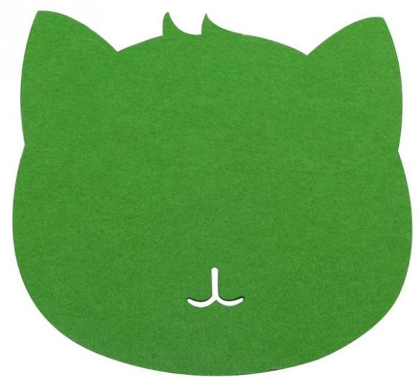 Muismat kat (groen)