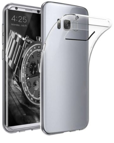 Transparant hoesje (Samsung Galaxy S8 Plus)