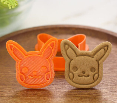 Pikachu bakvorm voor koekjes