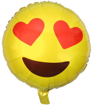 Smiley ballon (love)