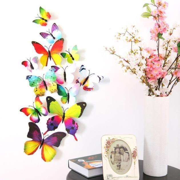 Regenboog vlinders