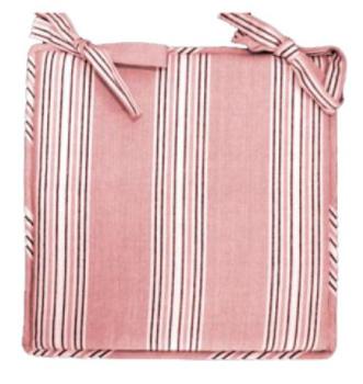 Plaatkussen Soho roze   Unique Living
