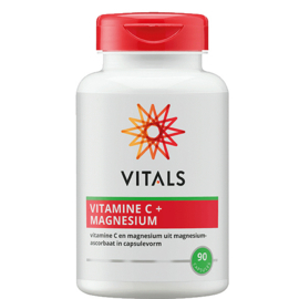Vitamine C + Magnesium 90 capsules