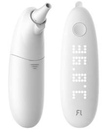 7. A. Contactloze Infrarood-Thermometer samen met Saturatie-meter.