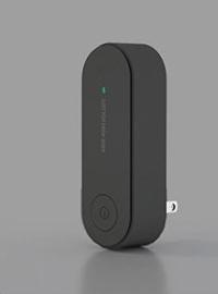 3 ZWART. Plug-Inn: Ultra-fijnstofreiniger bij COPD of Longaandoening. 10/14m2