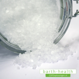 Slijmoplosser bij COPD Himalaya zout (natuurlijke basis)