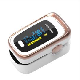 2 . Saturatiemeter ( perfect nauwkeurige metingen) bij COPD, Corona of Astma