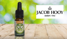 Jacob Hooy CBD Plus Olie 5% ( 30ml )