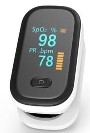 1. Medische Saturatiemeter (zeer nauwkeurige metingen) bij longaandoening