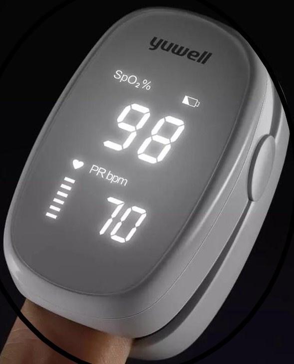 7. Saturatiemeter (zeer nauwkeurige metingen) bij COPD, Corona of Astma