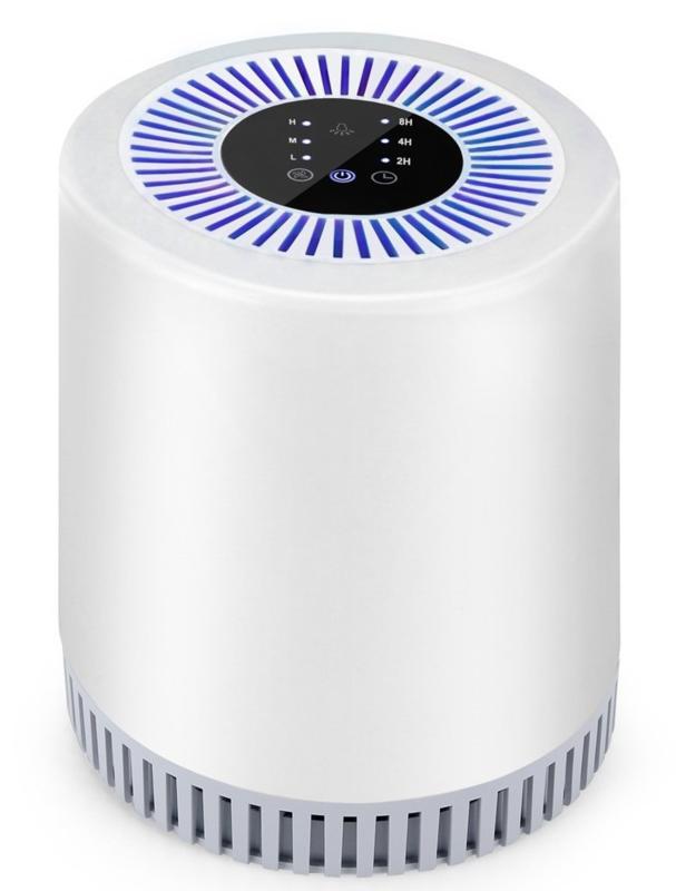 17. Binnenlucht reiniger bij COPD met IONISATIE, CARBON en HEPA filters, 18/20/22m2