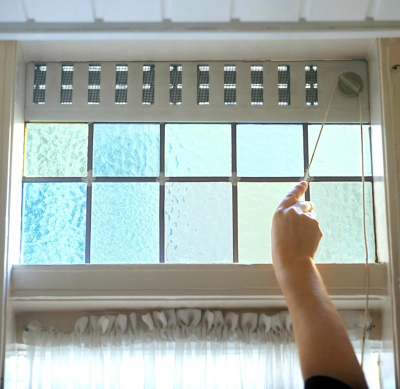 Hoe je huis te luchten en te ventileren.