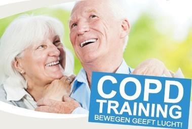 Meer bewegen is noodzakelijk bij COPD