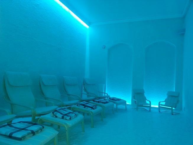 Zoutkamers voor mensen met COPD