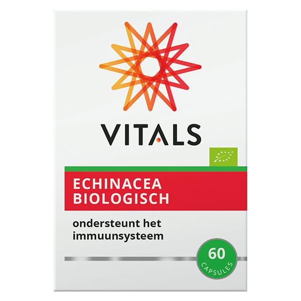Echinacea Biologisch Vitals 60 capsules