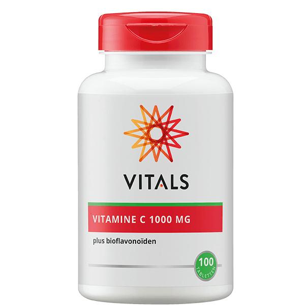 Vitamine C  Vitals 100 tabletten