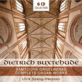 BUXTEHUDE, Dietrich - Sämtliche Orgelwerke - voordeelbox 6 CD's