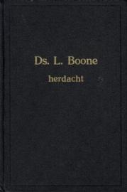 MIERAS, M.A. e.a. - Ds. L. Boone herdacht