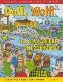 POEL, J.F. van der - Dolfi en Wolfi en de gevaarlijke ontvoerders - STRIPBOEK - 4