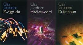 VOORDEELPAKKET Clay Jacobsen - misdaad & media 3 delen
