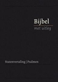 Bijbel met uitleg MIDDEL 170 x 240 mm, harde band, zwart