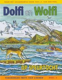 POEL, J.F. van der - Dolfi en Wolfi op speurtocht - STRIPBOEK - 3