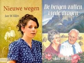KLIJN, Jan W. - VOORDEELPAKKET no. 2 - Nieuwe wegen / Bergen zullen vrede dragen