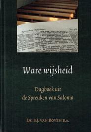 BOVEN, B.J. van - Ware wijsheid